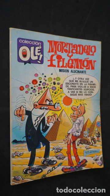 MORTADELO Y FILEMON, MISION ALUCINANTE, NUMERO 148, EDITORIAL BRUGUERA, OLE (Tebeos y Comics - Bruguera - Ole)