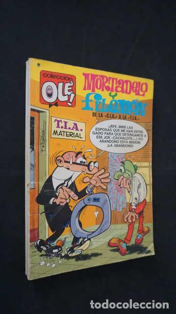 MORTADELO Y FILEMON, DE LA CIA A LA TIA, NUMERO 104, EDITORIAL BRUGUERA, OLE (Tebeos y Comics - Bruguera - Ole)