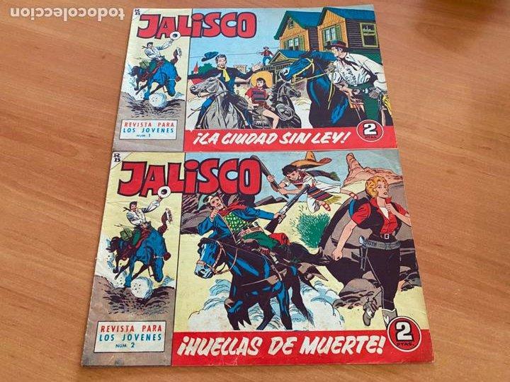Tebeos: JALISCO COLECCION COMPLETA 1 AL 20 (BRUGUERA) ORIGINAL (COIB31) - Foto 2 - 255605485
