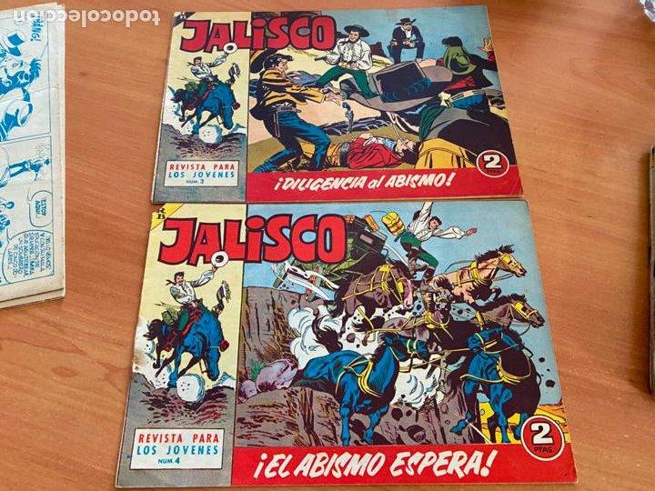 Tebeos: JALISCO COLECCION COMPLETA 1 AL 20 (BRUGUERA) ORIGINAL (COIB31) - Foto 3 - 255605485