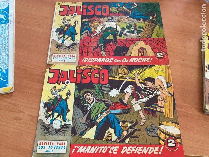 Tebeos: JALISCO COLECCION COMPLETA 1 AL 20 (BRUGUERA) ORIGINAL (COIB31) - Foto 5 - 255605485