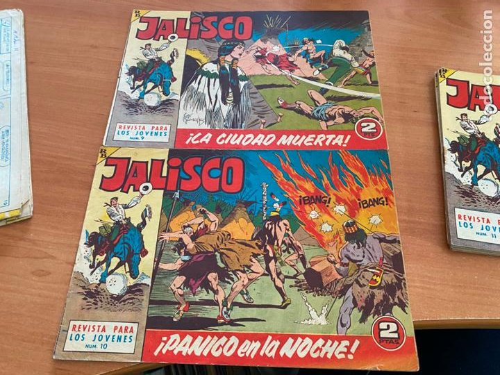 Tebeos: JALISCO COLECCION COMPLETA 1 AL 20 (BRUGUERA) ORIGINAL (COIB31) - Foto 9 - 255605485