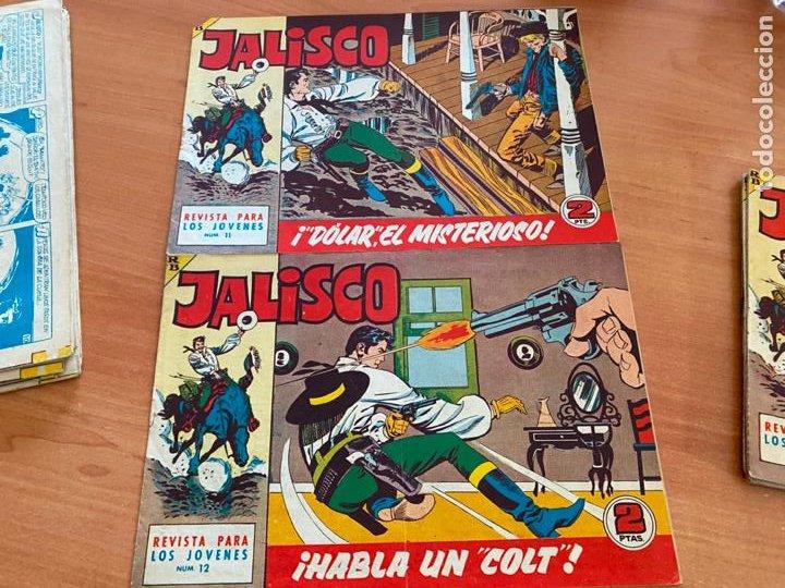 Tebeos: JALISCO COLECCION COMPLETA 1 AL 20 (BRUGUERA) ORIGINAL (COIB31) - Foto 11 - 255605485