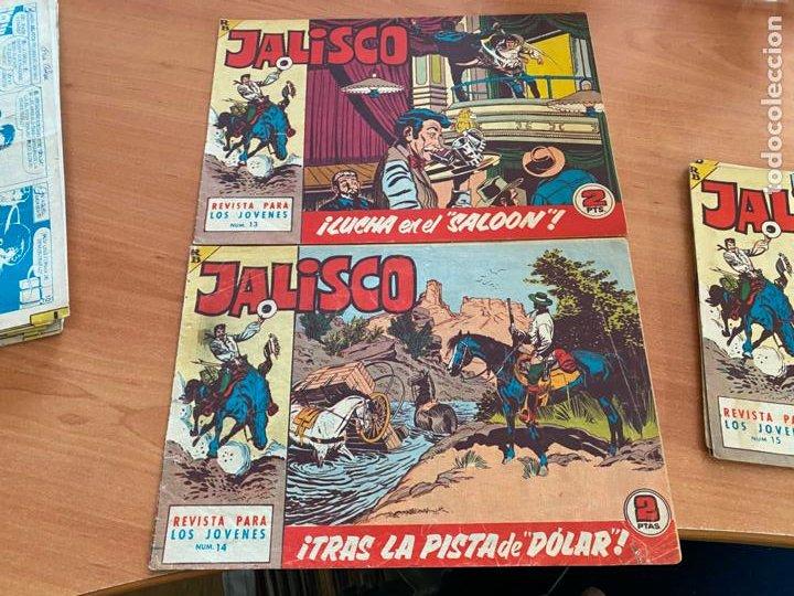 Tebeos: JALISCO COLECCION COMPLETA 1 AL 20 (BRUGUERA) ORIGINAL (COIB31) - Foto 13 - 255605485