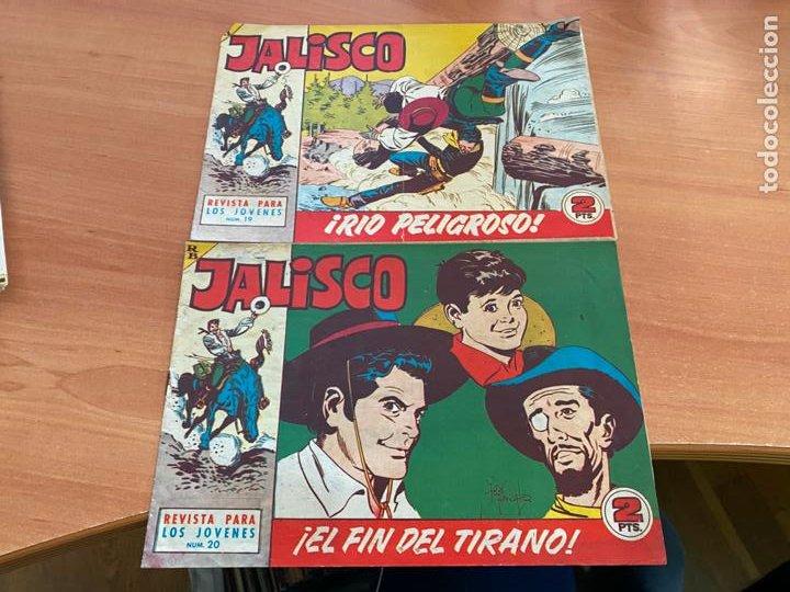 Tebeos: JALISCO COLECCION COMPLETA 1 AL 20 (BRUGUERA) ORIGINAL (COIB31) - Foto 19 - 255605485