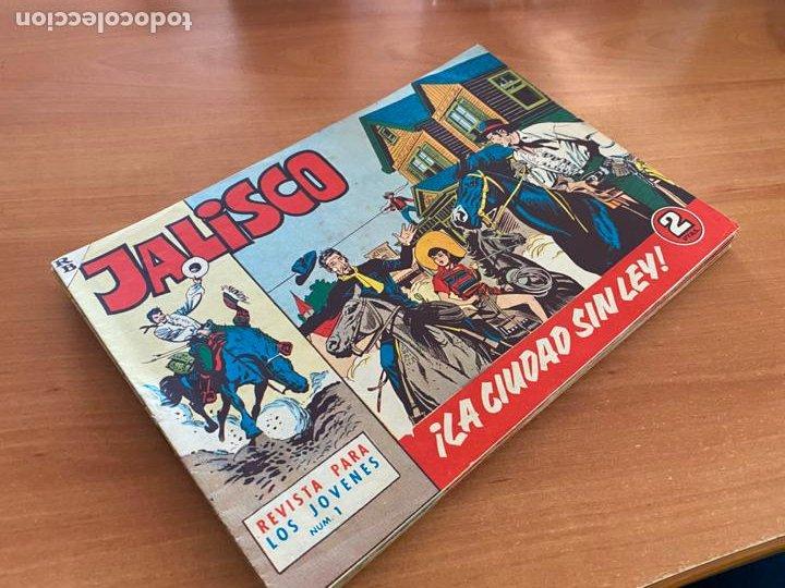 JALISCO COLECCION COMPLETA 1 AL 20 (BRUGUERA) ORIGINAL (COIB31) (Tebeos y Comics - Bruguera - Otros)