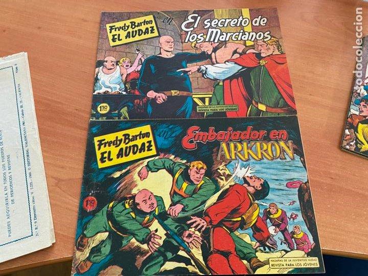 Tebeos: FRED BARTON EL AUDAZ COLECCION COMPLETA 1 AL 16 (VALENCIANA) ORIGINAL (COIB31) - Foto 10 - 255609515