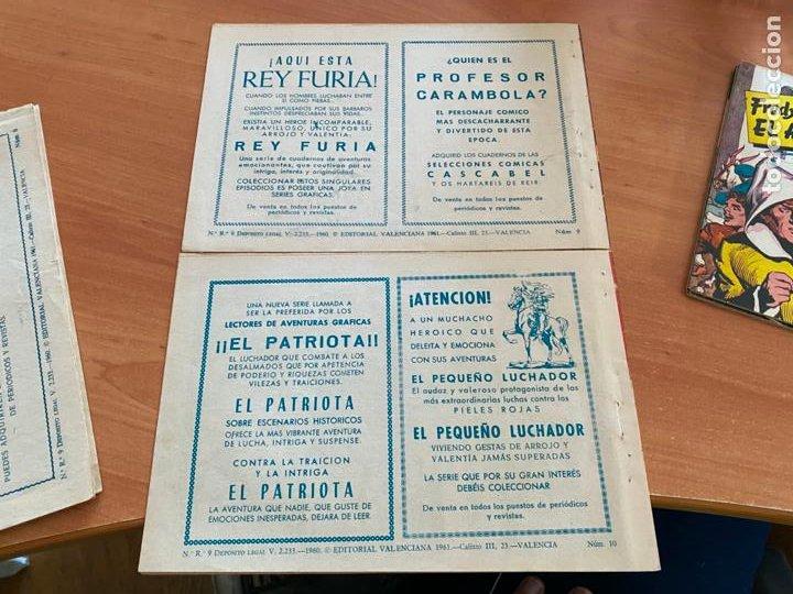 Tebeos: FRED BARTON EL AUDAZ COLECCION COMPLETA 1 AL 16 (VALENCIANA) ORIGINAL (COIB31) - Foto 11 - 255609515