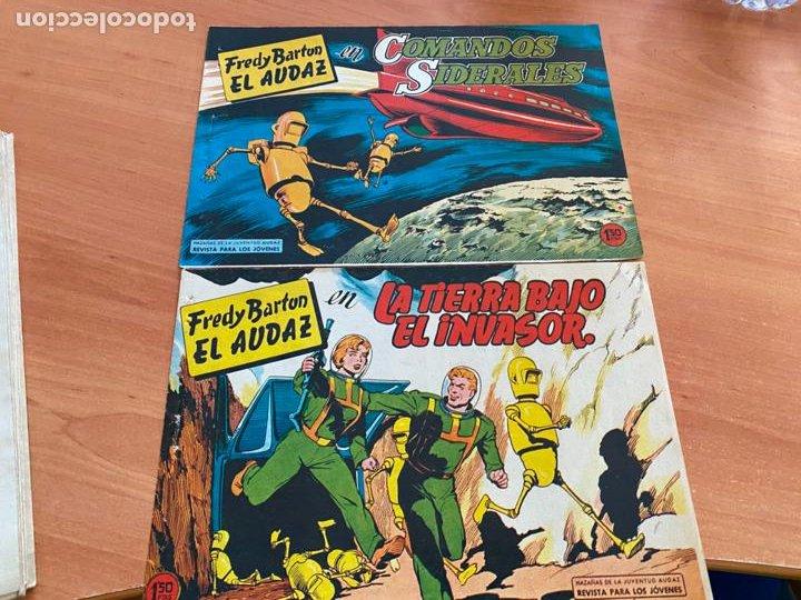 Tebeos: FRED BARTON EL AUDAZ COLECCION COMPLETA 1 AL 16 (VALENCIANA) ORIGINAL (COIB31) - Foto 16 - 255609515
