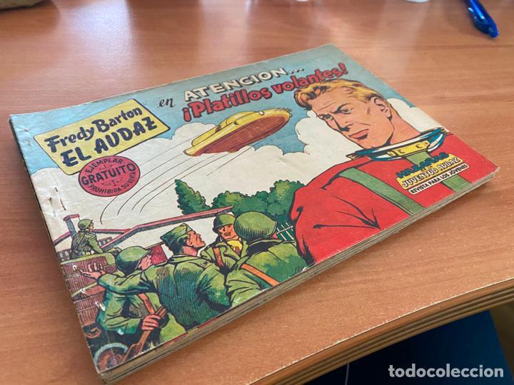 FRED BARTON EL AUDAZ COLECCION COMPLETA 1 AL 16 (VALENCIANA) ORIGINAL (COIB31) (Tebeos y Comics - Bruguera - Otros)