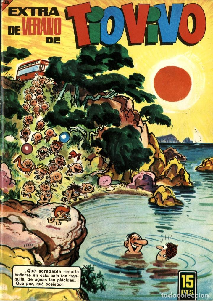 TIO VIVO EXTRA DE VERANO 1966 (BRUGUERA) (Tebeos y Comics - Bruguera - Tio Vivo)