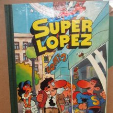 Tebeos: SUPER LOPEZ - TOMO 1 - SUPER HUMOR - 2ª EDICION - BRUGUERA - MUY BUEN ESTADO. Lote 256021500