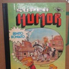 Tebeos: BENITO BONIATO - TOMO 1 - SUPER HUMOR - 1ª EDICION - BRUGUERA - MUY BUEN ESTADO. Lote 256025960