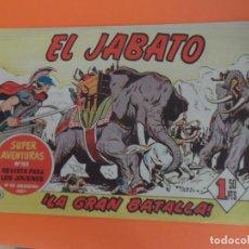 Tebeos: EL JABATO Nº 31 EDITORIAL BRUGUERA ORIGINAL. Lote 256078780