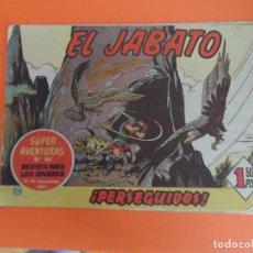 Tebeos: EL JABATO Nº 28 EDITORIAL BRUGUERA ORIGINAL. Lote 256079345