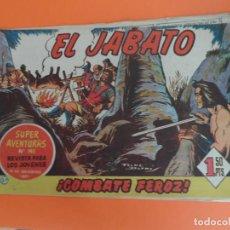 Tebeos: EL JABATO Nº 27 EDITORIAL BRUGUERA ORIGINAL. Lote 256080105