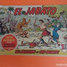 Tebeos: EL JABATO Nº 23 EDITORIAL BRUGUERA ORIGINAL. Lote 256081270