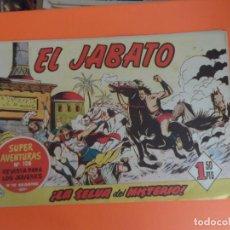 Tebeos: EL JABATO Nº 21 EDITORIAL BRUGUERA ORIGINAL. Lote 256081575