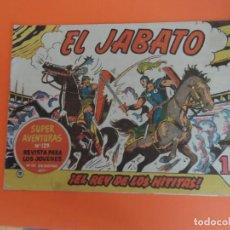 Tebeos: EL JABATO Nº 19 EDITORIAL BRUGUERA ORIGINAL. Lote 256081900