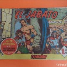 Tebeos: EL JABATO Nº 18 EDITORIAL BRUGUERA ORIGINAL. Lote 256082070