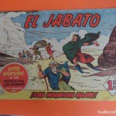Tebeos: EL JABATO Nº 17 EDITORIAL BRUGUERA ORIGINAL. Lote 256082175