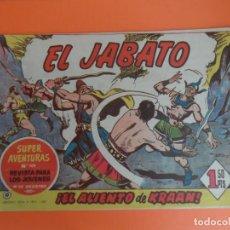 Tebeos: EL JABATO Nº 10 EDITORIAL BRUGUERA ORIGINAL. Lote 256082460