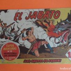 Tebeos: EL JABATO Nº 7 EDITORIAL BRUGUERA ORIGINAL. Lote 256082825
