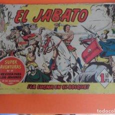 Tebeos: EL JABATO Nº 6 EDITORIAL BRUGUERA ORIGINAL. Lote 256082920