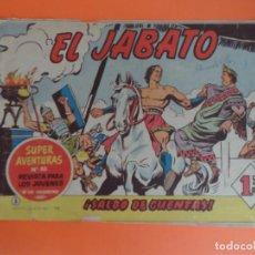 Tebeos: EL JABATO Nº 5 EDITORIAL BRUGUERA ORIGINAL. Lote 256083075