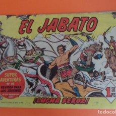 Tebeos: EL JABATO Nº 4 EDITORIAL BRUGUERA ORIGINAL. Lote 256083255