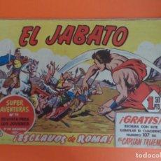 Tebeos: EL JABATO Nº 1 EDITORIAL BRUGUERA ORIGINAL. Lote 256083415