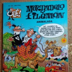 Tebeos: COMIC DE MORTADELO Y FILEMON EN ANIMALADA DEL AÑO 1996 Nº 127. Lote 256102900
