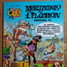 Tebeos: COMIC DE MORTADELO Y FILEMON EN BARCELONA - 92 DEL AÑO 2000 Nº 76. Lote 256103920