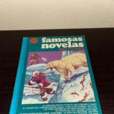 Tebeos: FAMOSAS NOVELAS VOLUMEN XV 15. BRUGUERA 1978 TOMO TAPA DURA 1ª EDICION UNICO TC DIFICIL. Lote 256213840