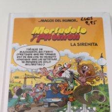 Tebeos: MORTADELO Y FILEMÓN - LA SIRENITA - MAGOS DEL HUMOR - SIN ABRIR. Lote 257264785