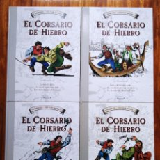 Tebeos: EL CORSARIO DE HIERRO 4 TOMOS COMPLETA FORMATO GRANDE EDICIONES B 2009. Lote 257274350