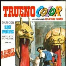 Tebeos: TRUENO COLOR (1ª ÉPOCA) - BRUGUERA / NÚMERO 35 ** IMPECABLE**. Lote 257346335