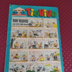 Tebeos: TIO VIVO 195 BRUGUERA 1964 BUEN ESTADO GENERAL. Lote 257347800