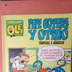 Tebeos: PEPE GOTERA Y OTILIO. CHAPUZAS A DOMICILIO. COLECCIÓN OLÉ!. EDITORIAL BRUGUERA. S.A.. Lote 257456805