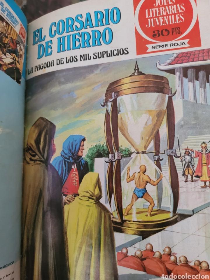 Tebeos: El corsario de hierro I (1-14) Encuadernación Lujo polipilel - Foto 12 - 257563490