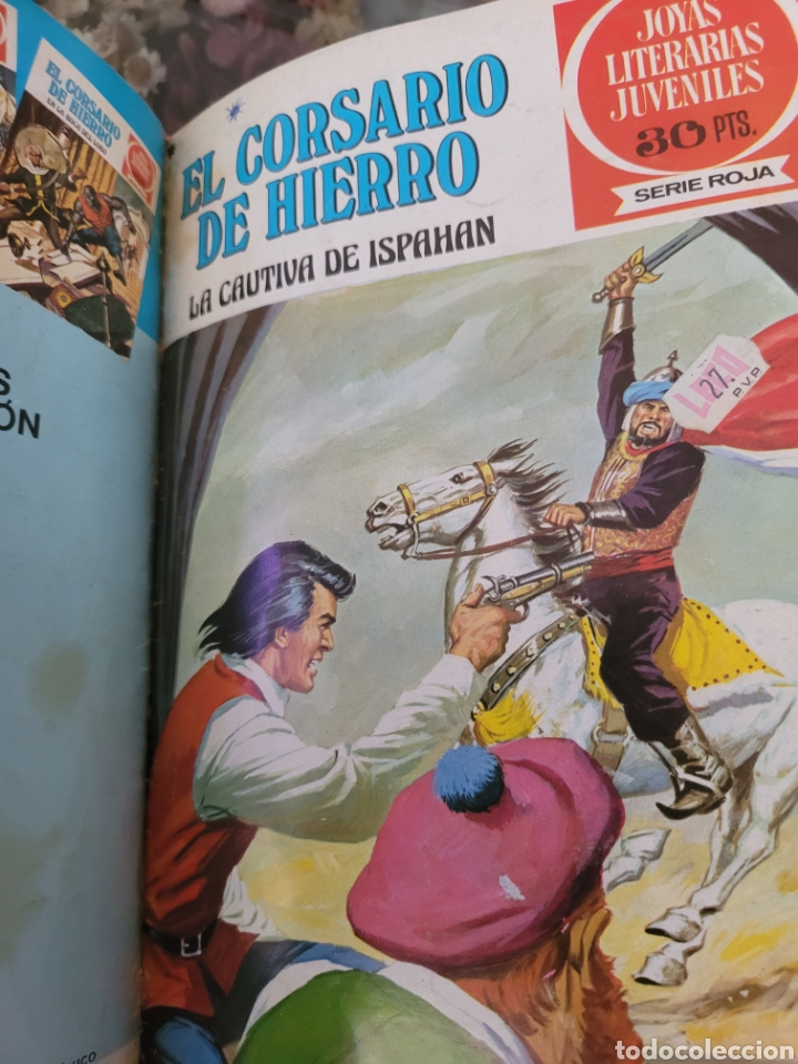 Tebeos: El corsario de hierro I (1-14) Encuadernación Lujo polipilel - Foto 16 - 257563490