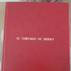 Tebeos: EL CORSARIO DE HIERRO I (1-14) ENCUADERNACIÓN LUJO POLIPILEL. Lote 257563490