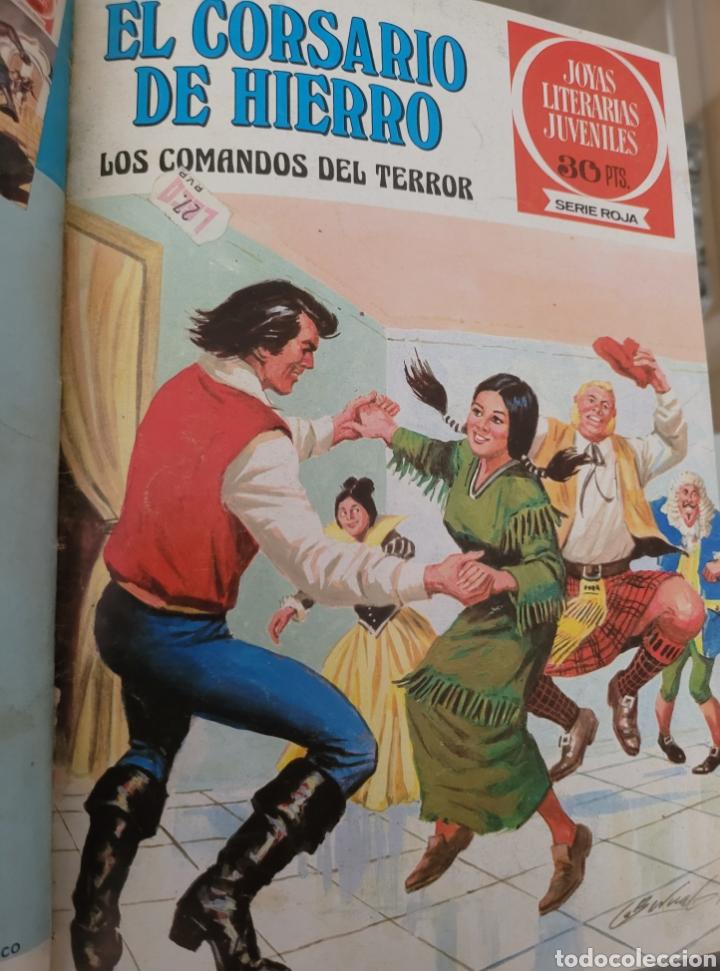Tebeos: El Corsario de Hierro III (29-40) Edición de Lujo Polipiel - Foto 6 - 257565510