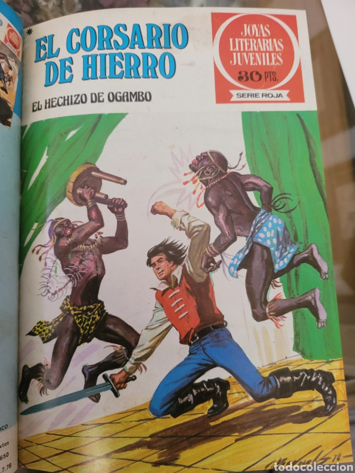 Tebeos: El Corsario de Hierro III (29-40) Edición de Lujo Polipiel - Foto 11 - 257565510