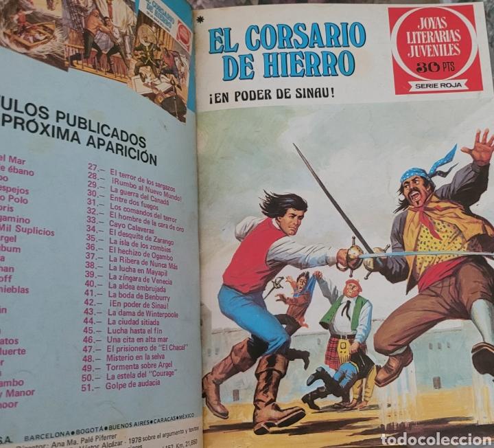 Tebeos: El Corsario de Hierro IV (41-52) Edición de lujo Polipiel - Foto 5 - 257566000
