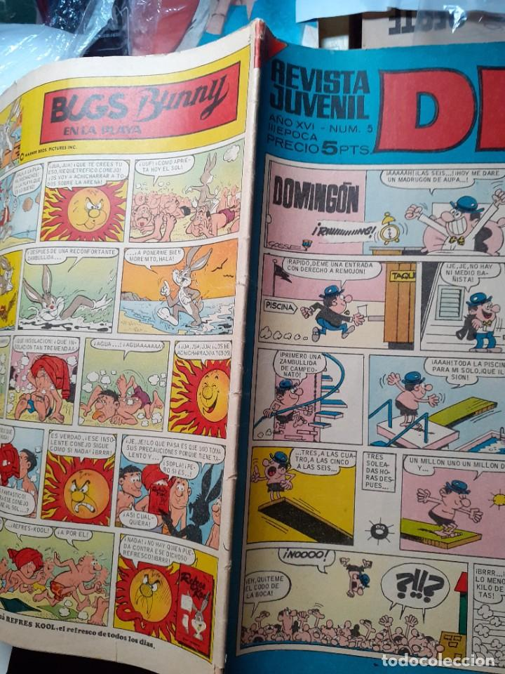 Tebeos: DDT -III ÉPOCA- Nº 5 -ANACLETO DE VÁZQUEZ-JIMMY BANANA DE BAYONA-1967-MUY ESCASO-CORRECTO-LEA-4624 - Foto 2 - 257630545