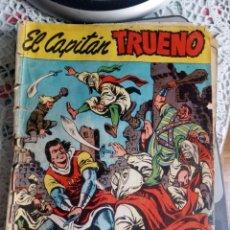 Tebeos: EL CAPITÁN TRUENO. ALMANAQUE PARA 1960 (MUY DEFECTUOSO). Lote 257639670
