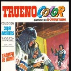 Tebeos: TRUENO COLOR (1ª ÉPOCA) - BRUGUERA / NÚMERO 61 ** IMPECABLE**. Lote 257654655