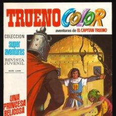 Tebeos: TRUENO COLOR (1ª ÉPOCA) - BRUGUERA / NÚMERO 63 ** IMPECABLE**. Lote 257655100