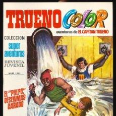 Tebeos: TRUENO COLOR (1ª ÉPOCA) - BRUGUERA / NÚMERO 64 ** IMPECABLE**. Lote 257655290